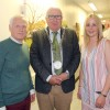Poet Edward Denniston, Cllr Pat Nugent, Mayor of Waterford & artist Sinead Hehir