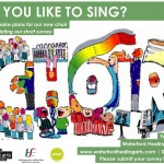 do you like to sing survey flier